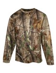 Tri-Mountain 622C Force Camo-Polyester Mesh Long Sleeve Shirt With Realtree Ap® & Tri-Mountain Ultracool™.