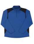 Tri-Mountain 624 Diversion-Men's Poly Ultracool 1/4 Zip Pullover Shirt
