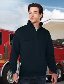 Tri-Mountain 647 Alarm-Men's 80% Cotton 20% Polyester Pullover Sweat Shirt