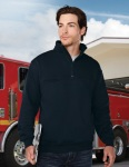 Tri-Mountain 647 Alarm - Men's 80% Cotton 20% polyester pullover sweat shirt