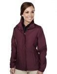 Tri-Mountain 6860 Cantrece-Women's 100% Polyester Woven  Long Sleeve Jacket With 600mm Coating