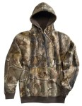 Tri-Mountain 689C Perspective Camo-80/20 Hooded Sweatshirt With Realtree Ap® Pattern.