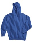 Tri-Mountain 689 Perspective - Cotton/poly sueded finish hooded sweatshirt