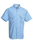 Tri-Mountain 703 Reef - Men nylon shirt with UPF protection and ventilated back
