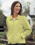 Tri-Mountain 7120 Windsor-Women's Micro Fleece Jacket.
