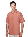 Tri-Mountain 723 Bechard-Mens 53% Modal 47% Polyester Ss Woven Shirt