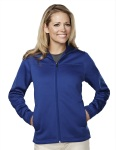 Tri-Mountain 7336 Deering - Women's 100% polyester mesh fleece hooded jacket