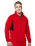 Tri-Mountain 7348 Tornado - Men's 100% polyester long sleeve jacket with UC