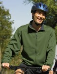 Tri-Mountain 7350 Contender - Men's polyknit fleece full zip jacket