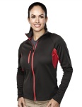 Tri-Mountain 7357 Lady Lancer - Women's 100% Polyester Micro fleece long sleeve jacket