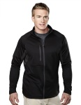 Tri-Mountain 7359 Lancer-Men's 100% Polyester Fleece Long Sleeve Jacket