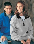 Tri-Mountain 7550 Viking-Panda Fleece 1/4 Zip Pullover With Trim.