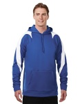 Tri-Mountain 7686 Vigilant-Men's 100%poly Fleece Long Sleeve Ultra Cool Jacket With Hood.