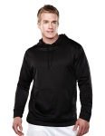 Tri-Mountain 7689 Fanatic-Men's 100%poly Fleece Long Sleeve Ultra Cool Jacket With Hood.