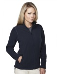 Tri-Mountain 7815 Bellevue - Women's 100% polyester brushed back fleece jacket