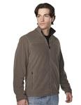 Tri-Mountain 7825 Blaine-Mens 100% Polyester Brushed Back Fleece Jacket.