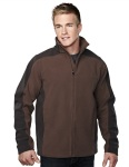 Tri-Mountain 7880 Sabre-Mens 100% Polyester Micro Fleece Bonded Jacket With Membrance