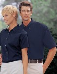 Tri-Mountain 788 Valor-Men's Cotton Short Sleeve Peached Twill Shirt.