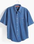 Tri-Mountain 828 Scout-Men's Denim Short Sleeve Shirt.