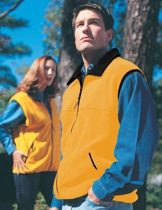 Tri-Mountain 8350 Excursion-Panda Fleece Vest.
