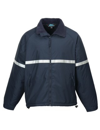 Tri-Mountain 8835 Sector-Men Windproof/Water Resistant Heavyweight Safety Jacket.