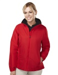 Tri-Mountain 8860 Sequel-Women's 100% Polyester Long Sleeve Jacket With Water Resistent .