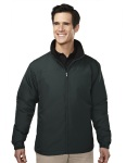 Tri-Mountain 8880 Saga-Men's 100% Polyester Long Sleeve Jacket With Water Resistent .