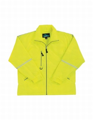 Tri-Mountain 8930 Courier-Nylon Jacket With Reflective Tape.