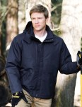 Tri-Mountain 8950 Authority-Men 2-In-1 Windproof/Water Resistant Heavyweight Work Jacket.