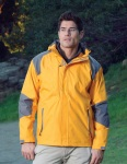 Tri-Mountain 9200 Slalom-Men's 100% Nylon Water Resistant Woven Jacket, Full Lined w/ Hood.