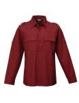 Tri-Mountain 920 Vortex-Tmr 60/40 Easy Care Slim-Fit Long Sleeve Shirt.