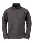 Tri-Mountain 935 Regan-Men's 100% Polyester 1/4 Zip Sweater Knit Ls Fleece Shirt.