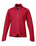 Tri-Mountain 936 Ella-Women's 100% Polyester Full Zip Sweater Knit Ls Fleece.