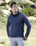 Tri-Mountain 938 Evan - Men's 100% Polyester Full Zip Sweater Knit LS Fleece