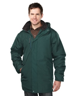 Tri-Mountain 9980 Droxford-Men's 100% Polyester Long Sleeve Jacket With Water Resistent