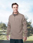 Tri-Mountain F595 Camden-Men's 1/4 Zip Sweatshirt