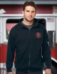 Tri-Mountain F646 Engine - Men's 80% Cotton/20% Polyester Full Zip Fleece Jacket