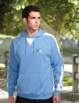 Tri-Mountain F685 Assist - Men's 60% Cotton 40% polyester pullover ULTRA COOL sweat shirt with hood