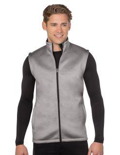 Tri-Mountain F7002 Ms Layer Knit Vest-Mens Layer Knit Vest. 9.8 Oz. 90% Polyester/10% Spandex Layer Knit.