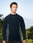 Tri-Mountain F7251 Logan - Men's 100% Polyester L/S crew neck fleece