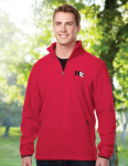 Tri-Mountain F7608 Alpine-Men's Polar Fleece Jacket With Slash Zippered Pockets