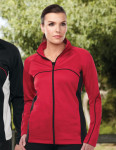 Tri-Mountain FL7356 Lady Westwood - Women's 100% Polyester Full Zip Fleece w/raglan sleeves,