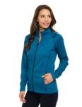 Tri-Mountain FL7370 Haze-Women'??s 100% Polyester Full Zip Jacket