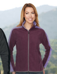 Tri-Mountain FL7381 Oakhaven-Women's 100% Polyester Anti-Pilling Micro Fleece (Double Brushed)