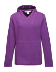 Tri-Mountain FL931 Paige-Women's 100% Polyester Hooded Sweater Knit Pullover Fleece