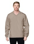Tri-Mountain J2450 Veer-Lightweight Windproof/Water-Resistant Polyester Shell Windshirt.