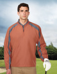 Tri-Mountain J2547 Chandler-Men's 100% Micro Plyester 1/4 Zip Wind Shirt