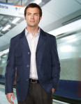 Tri-Mountain J2996 Rutherford-Men's 100% Polyester 3 Button Blazer With w/R 600mm,