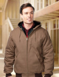 Tri-Mountain J4550 Foreman-Men's Cotton Canvas Hooded Jacket