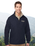Tri-Mountain J5308 Radius-Lightweight Jacket Features A Windproof/Water Resistant Shell Of 65% Polyester/35% Cotton